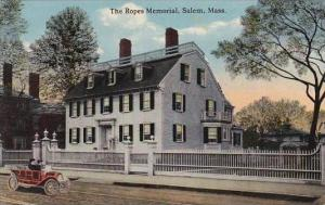 Massachustetts Salem The Ropes Memorial
