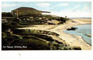 Massachusetts Fairhaven  Fort Phoenix