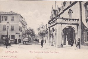 GIBRALTAR, 00-10s ; The Convent & South Port Street, V.B. Cumbo