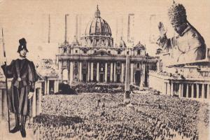 Vatican , S. Pietro , The Pope Blesses you , PU-1950