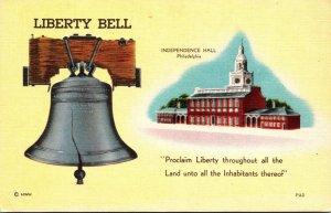 Pennsylvania Philadelphia Independence Hall and Liberty Bell