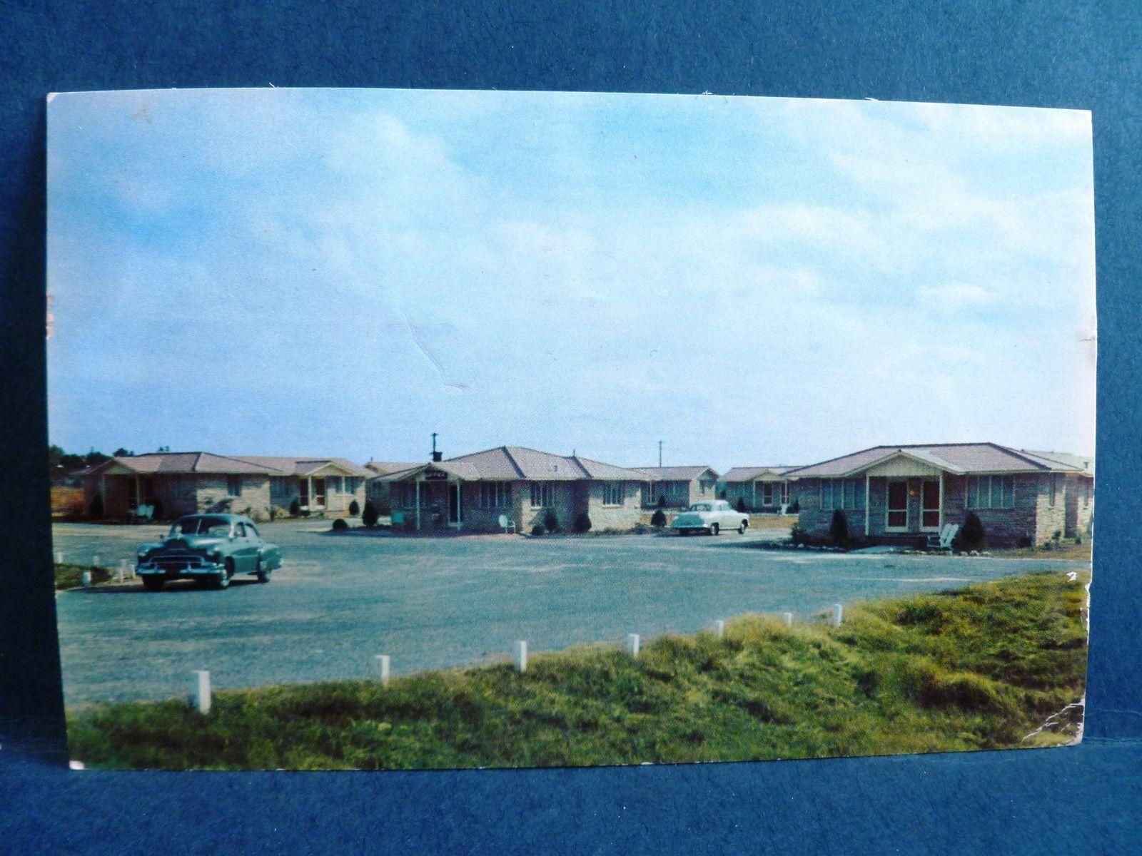 postcard fl tallahassee flagstone motor court 1950 39 s old cars hippostcard. Black Bedroom Furniture Sets. Home Design Ideas
