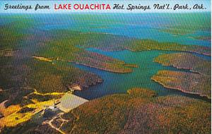 Arkansas Hot Springs Greetings From Lake Ouachita