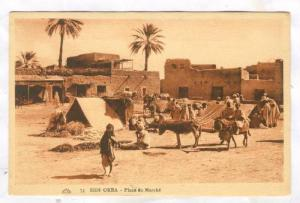 Sidi Okba , Algeria , Place du Marche, 1910s