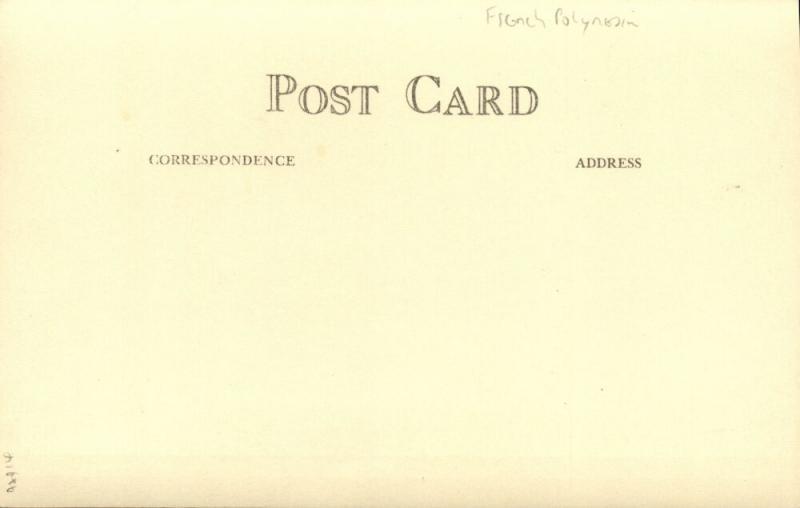 french polynesia, RAPA Island, Byrd Antarctic Expedition III (1939) RPPC (2)