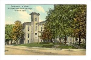 Conservatory of Music, Michigan State Normal College, Ypsilanti , Michigan, 0...
