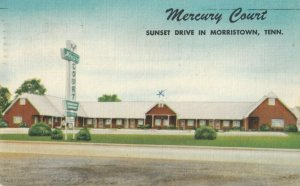 MORRISTOWN , Tennessee, 1930-40s ; Mercoury Court