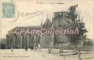 Old Postcard Niort (Deux-S?vres) The Church