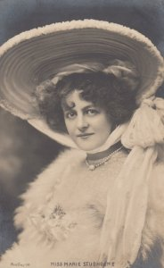 RP: Theatre Actress Miss Marie Studholme , 1905 ; TUCK