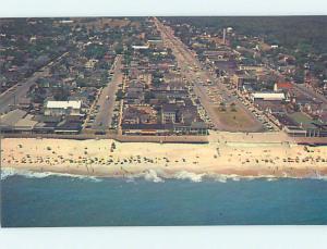Unused Pre-1980 SCENE AT BEACH Rehoboth Beach Delaware DE M6514@