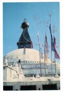 Boudhanath Stupa, Kathmandu , Nepal, 50-60s