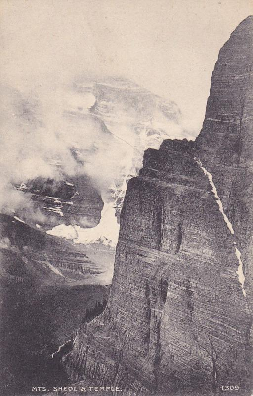 ALBERTA, Canada, 1900-1910's; Mts. Sheol And Temple