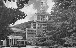 The Homestead Hotel Main Entrance & Tower Virginia Hot Springs VA postcard