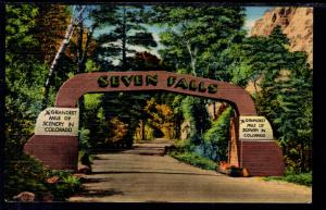 Entrance Seven Falls,Colorado Springs,CO