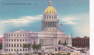 Cuba Havana National Capitol Building 1951