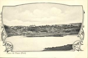 peru, Cerro de PASCO, Panorama (1899) Eduardo Polack, No. 123
