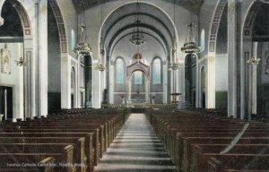 SEATTLE , Washington , 1900-10s ; Interior, Catholic Cathedral