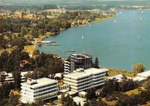Bad Zwischenahn Luftaufnahme mit Rheuma Sanatorium Panorama