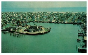 New Jersey   Stone Harbor Aerial View , Yacht Club