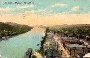 West Virginia Charleston and Kanawha River 1911