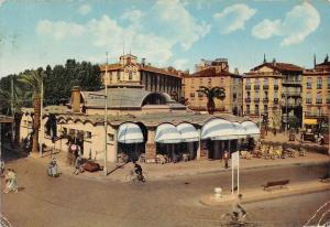 France Perpignan Le Palmarium, Un Coin de la Place Arago Cyclist Street