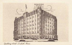 DULUTH, Minnesota, 1910-1930s; Spalding Hotel