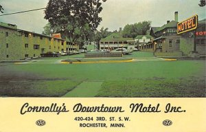 Connollys Downtown Motel  Rochester,  MN