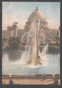 103925 USSR Exhibition Moscow fountain KOLOS Old PC