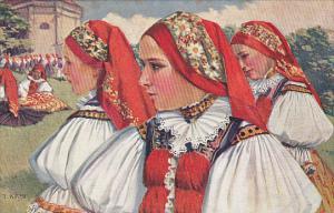 Czecho-Slovak National Costumes , PU-1920