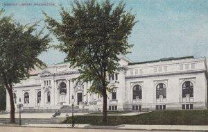 WASHINGTON DC , 1909 ; Public Library