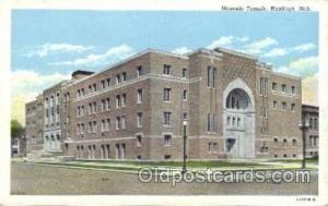 Hasting, Ned. Mason, Mason's Fraternal Organization, Postcard Post Card  Hast...