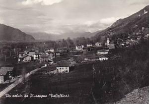 RP, Un Saluto Da Piussogno (Valtellina), Lombardy, Italy, 1920-1940s