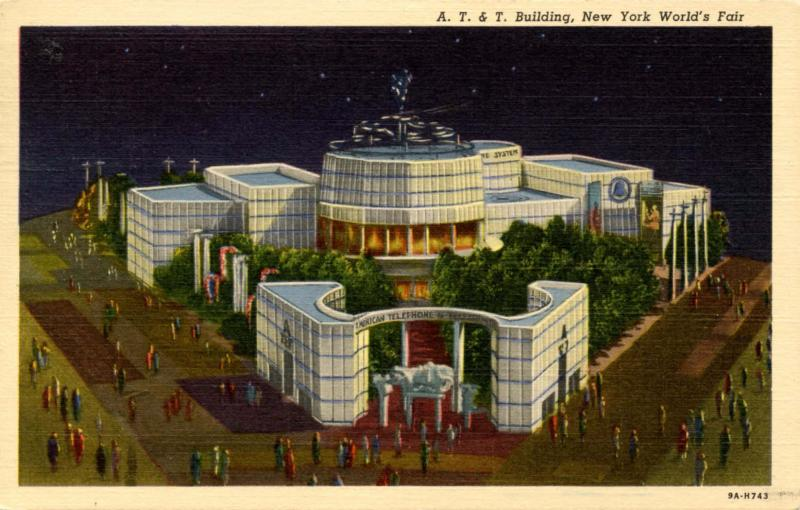 NY - New York World's Fair, 1939. AT & T Building