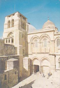 Israel Jerusalem Church Of Holy Sepulchre