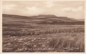TUCK: GRINDLEFORD, Derbyshire, England, United Kingdom; Higgar Tor and Carl W...