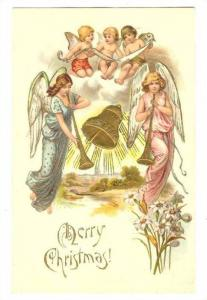 Five Christmas angels with trumpets, Pre-1907