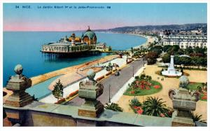2845  France Nice le jardin Promenade