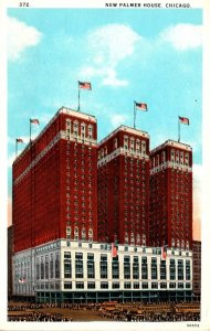Illinois Chicago The New Palmer House Curteich