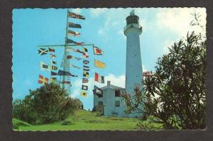 Gibbs Hill Lighthouse SOUTHAMPTON BERMUDA Postcard PC