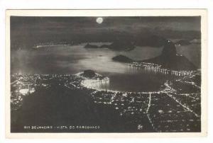 RP; Night View of Rio de Janeiro, Brazil, 10-20s