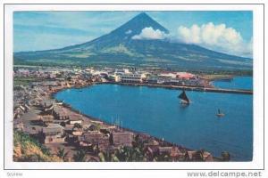 Aerial,The Volcanic Peak Mt. Mayon,Legasppi,Philippines