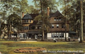LPS01 CLEVELAND Ohio Country Auto Club Postcard