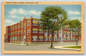 Huntington Indiana~Sunday Visitor Building~Roman Catholic Publishing Co~1940s