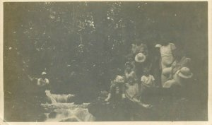 Belgian Congo real photo colonial family social history