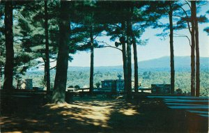 Postcard Cathedral Of The Pines, All People May Whorship, Rindge, NH