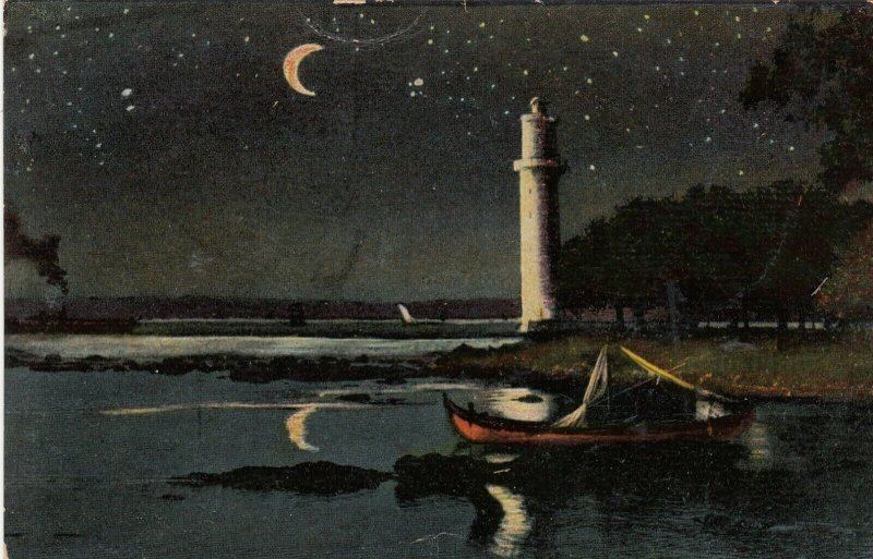 CONSTANTINOPLE, Turkey, 1901-07; Phener Bagtche , LIGHTHOUSE