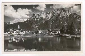 RP  Mittenwald, Germany , PU-1950