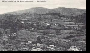 Vermont Peru in the Green Mountains Mount Bromley Albertype
