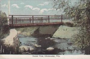 Wisconsin Glenbeulah Scenic View