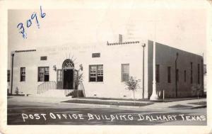 Dalhart Texas Post Office Real Photo Vintage Postcard JA4741936